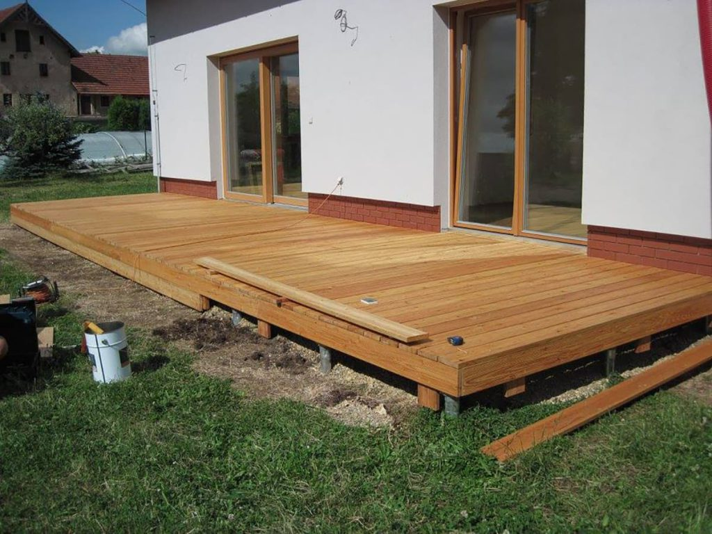 ground screw foundations for decking - stop digging