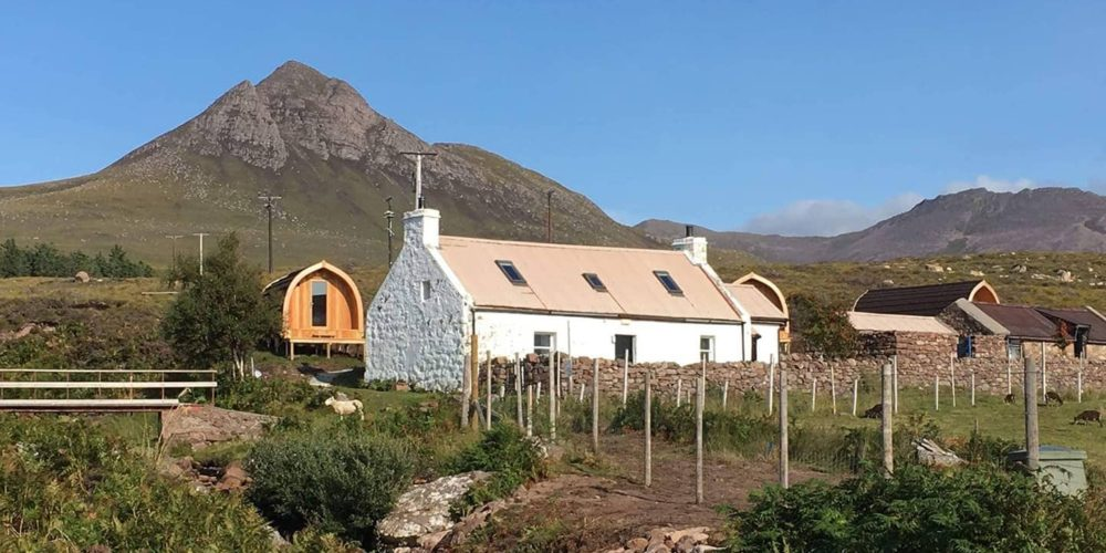 Glamping Pods, Ullapool